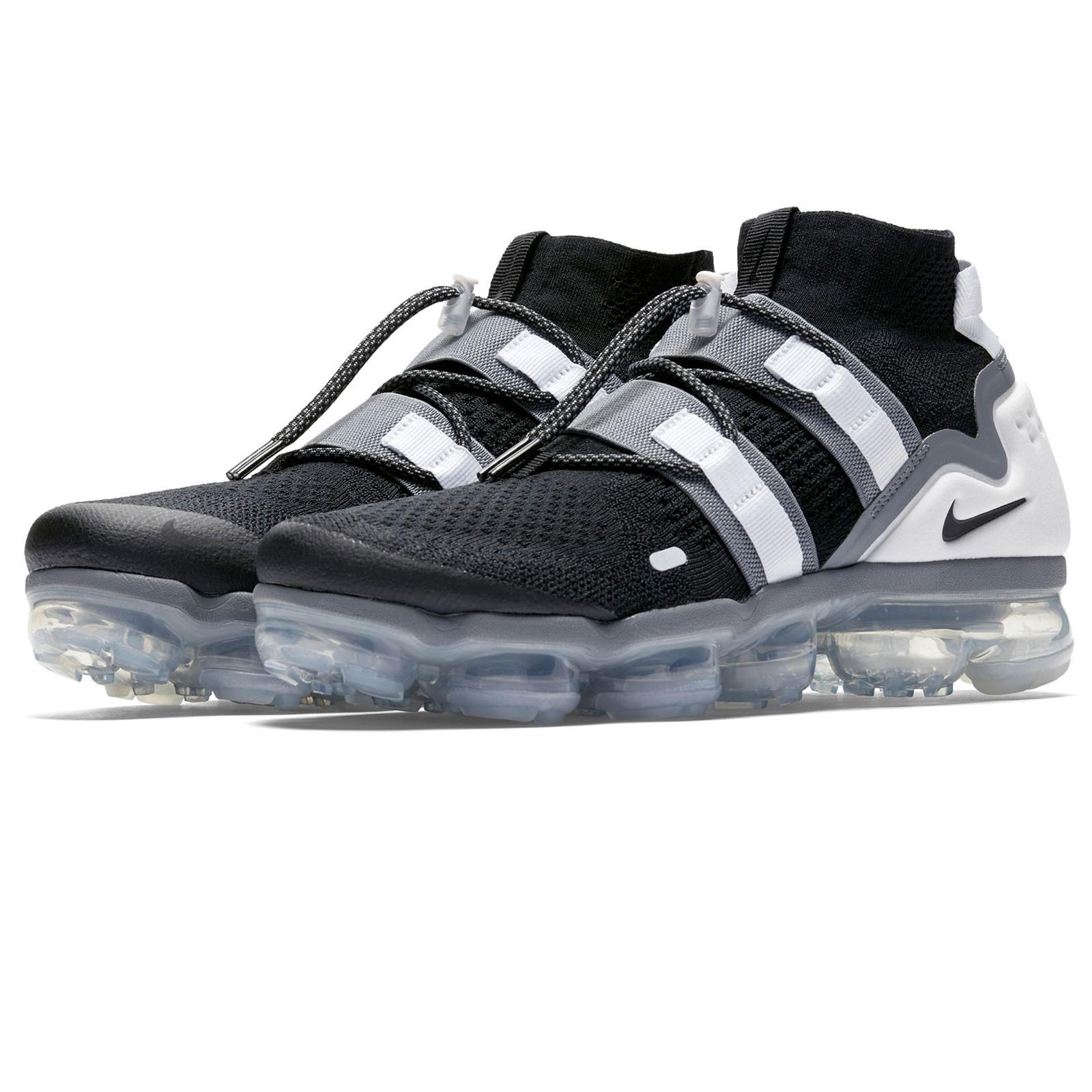 """new style e08cb 39dd4 Zapatos Zapatos Zapatos hombre sneaker NIKE AIR VAPORMAX in tessuto bianco  e nero AH6834-003. """""""
