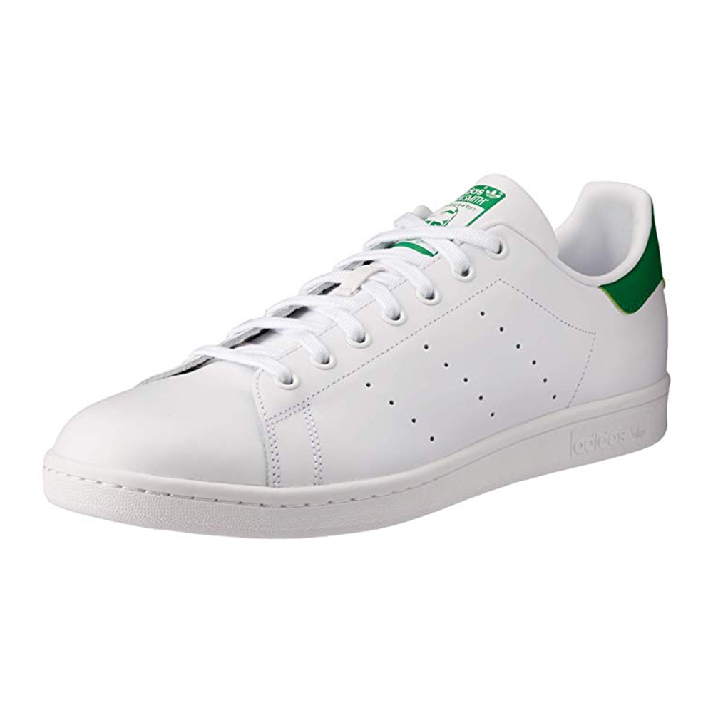 Scarpe adidas Originals STAN SMITH in pelle bianca e verde M20324