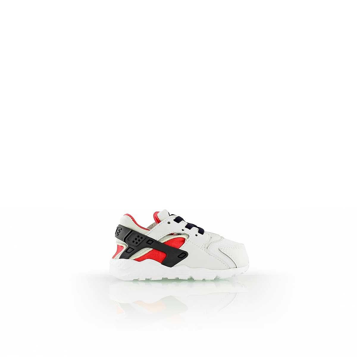 huge selection of 35f23 1abbb Blue Lacci Run Scarpe E Bianco Pelle Huarache 704952 Baby White Nike  1zqxS7zp