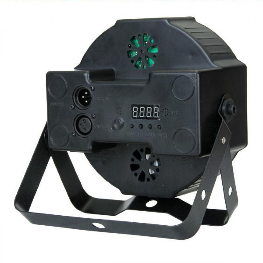 2 PAR LED FARO RGB 18 Watt STROBO WASH PROGRAMMABILE DMX + MIXER RGB 192!!! 3
