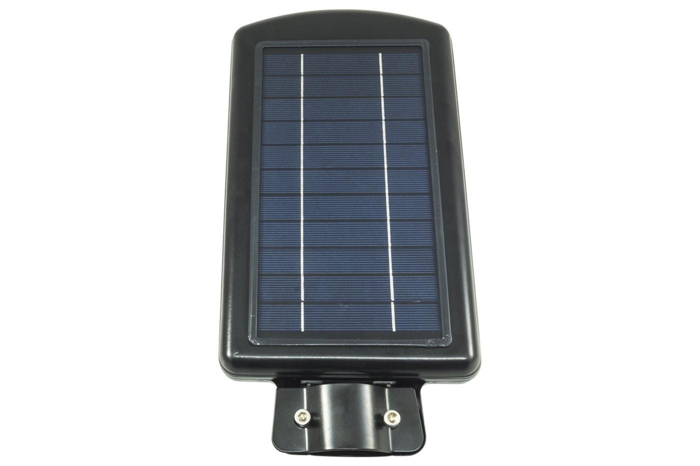 LAMPIONE-STRADALE-30W-FARO-FARETTO-AD-ENERGIA-SOLARE-A-LED-FOTOVOLTAICO-LUCE-LED miniatura 3