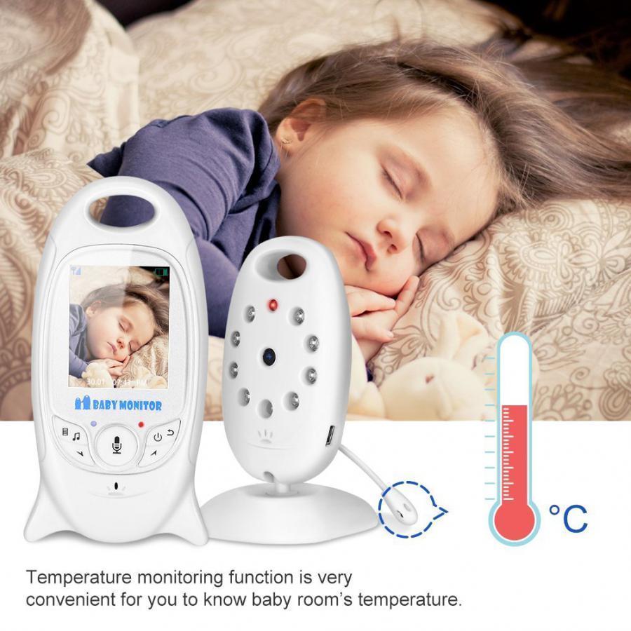 Baby Controllo Sonno Bambino Neonato Audio Video Control Monitor Soveglianza