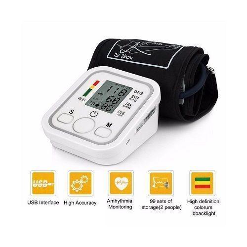 Misuratore Sfigmomanometro Aritmia 598 Di Pressione Da Braccio Automatico